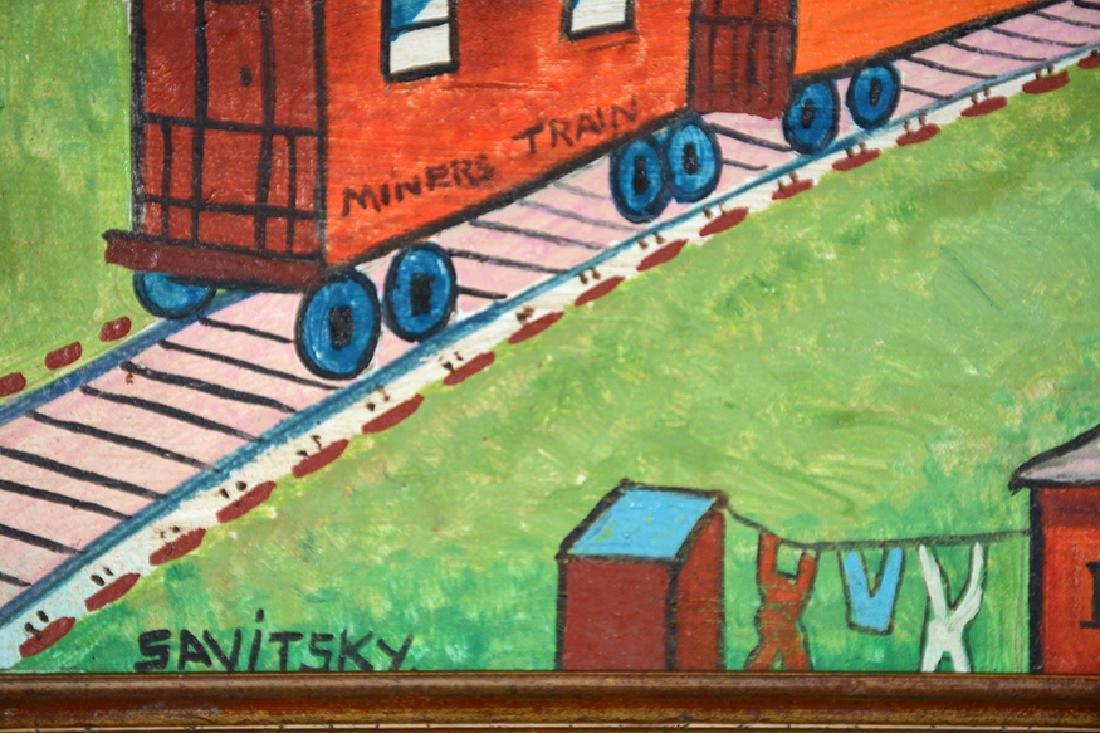 Jack Savitsky. Miners' Train. - 2