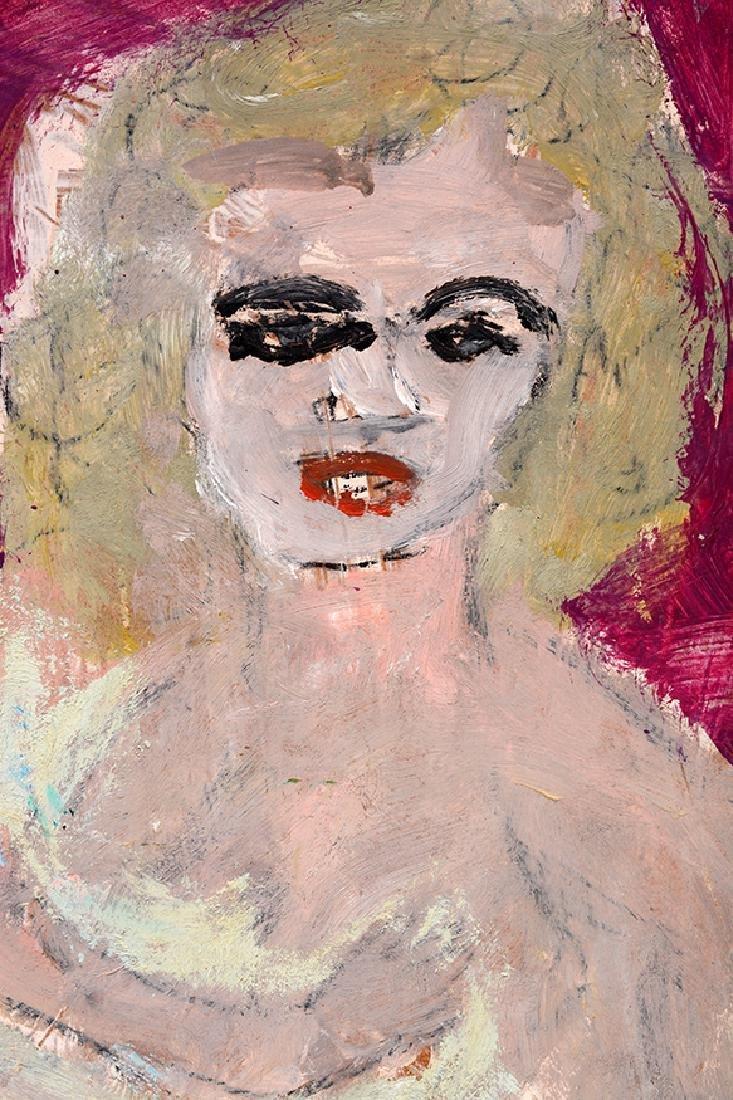 Justin McCarthy. Reclining Nude. - 3