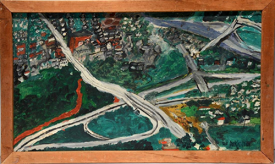 Justin McCarthy. Large Cityscape With Highways.