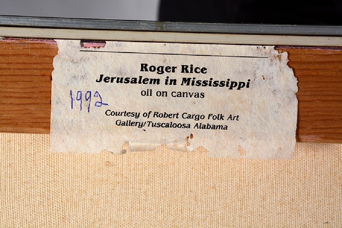 Roger Rice. Jerusalem In Mississippi. - 5
