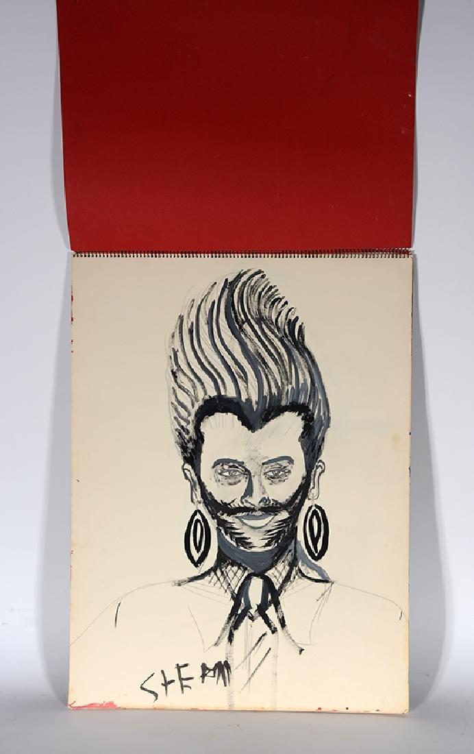 Eddie Owens Martin (St. E.O.M.).  Sketch Book.
