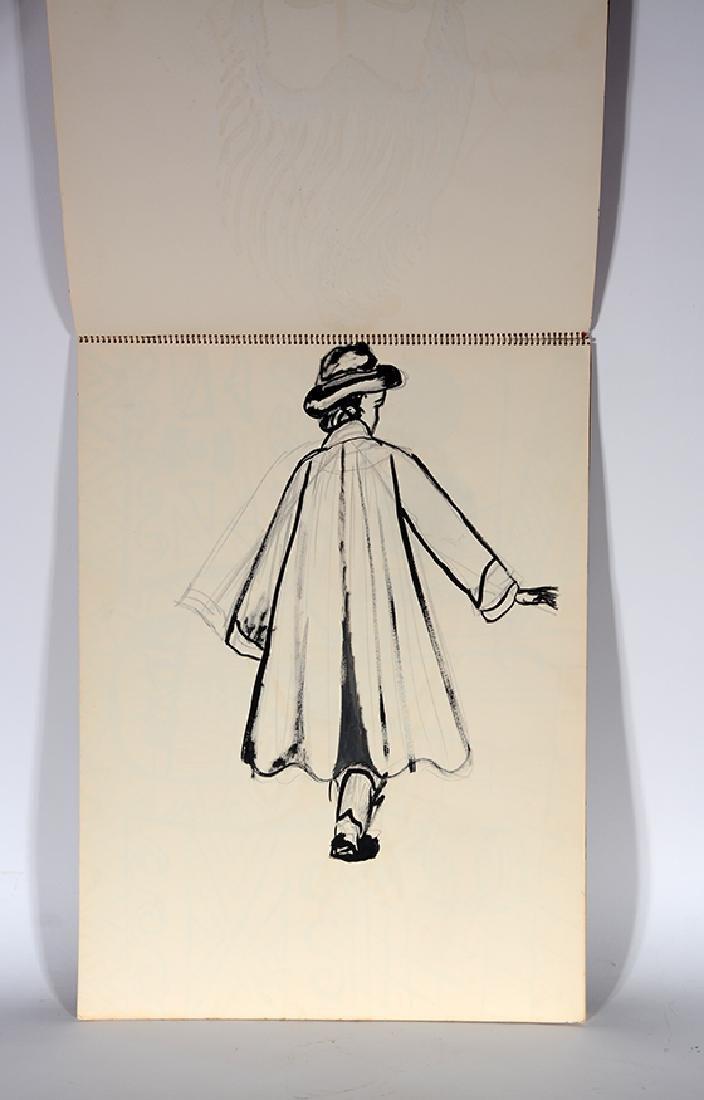 Eddie Owens Martin (St. E.O.M.).  Sketch Book. - 3