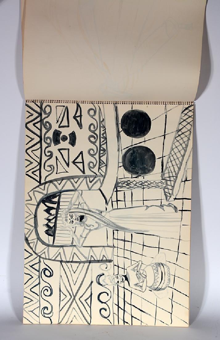 Eddie Owens Martin (St. E.O.M.).  Sketch Book. - 4