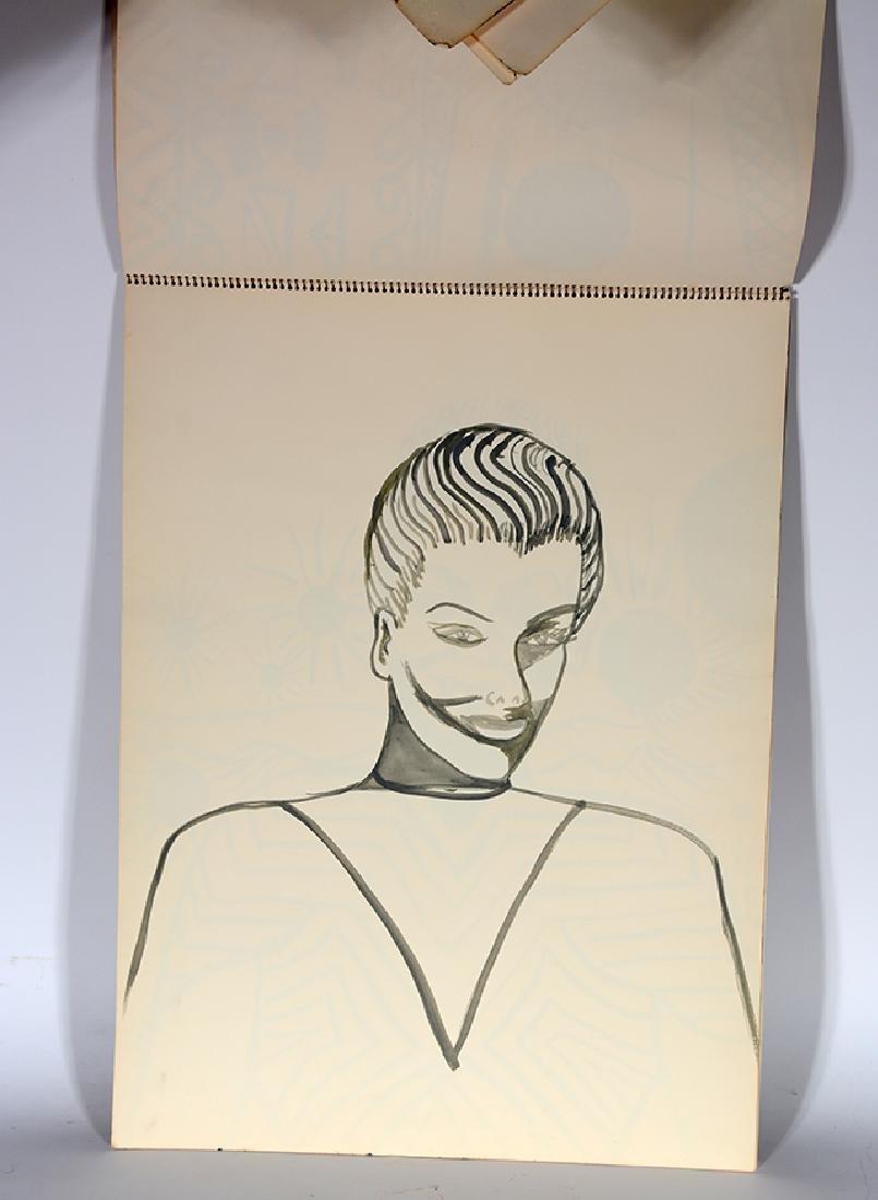 Eddie Owens Martin (St. E.O.M.).  Sketch Book. - 5