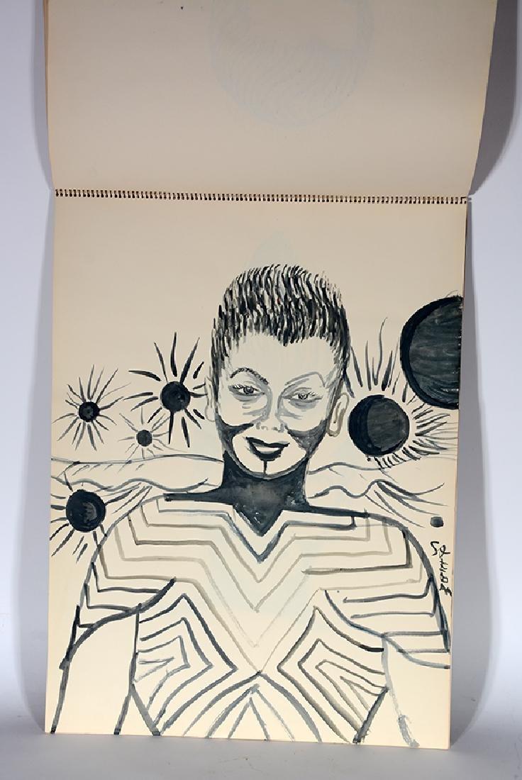 Eddie Owens Martin (St. E.O.M.).  Sketch Book. - 6