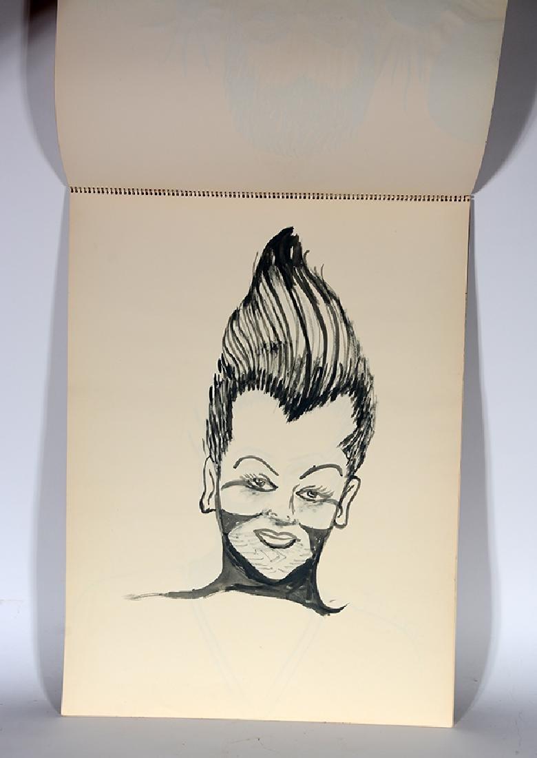 Eddie Owens Martin (St. E.O.M.).  Sketch Book. - 7
