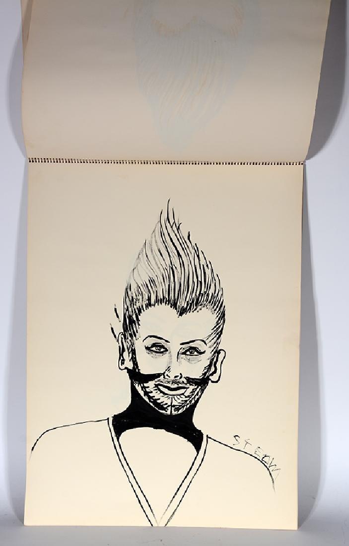 Eddie Owens Martin (St. E.O.M.).  Sketch Book. - 8
