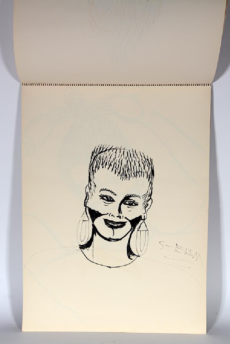 Eddie Owens Martin (St. E.O.M.).  Sketch Book. - 9