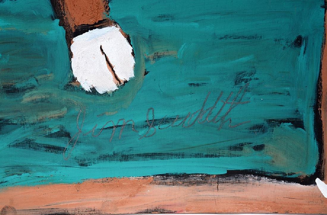 Jimmy Lee Sudduth. Big Brown Cow. - 3