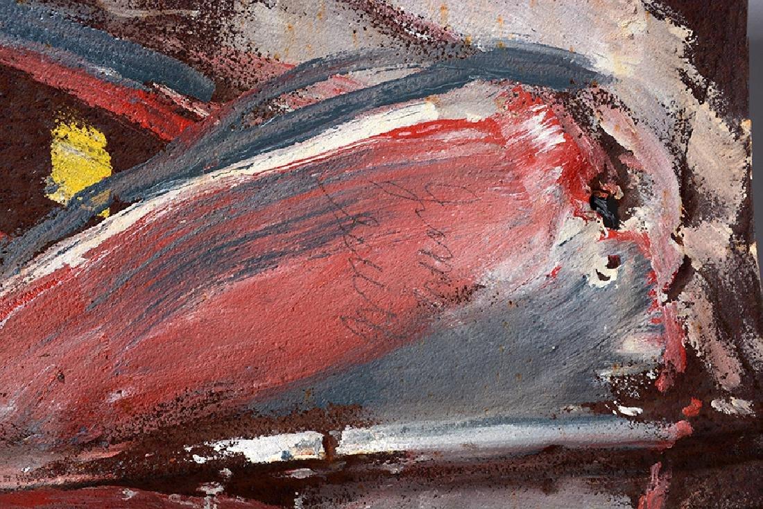 Jimmy Lee Sudduth. Giant Fish. - 2