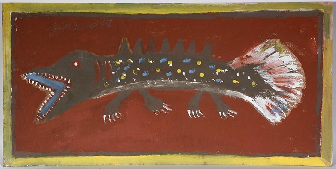Jimmy Lee Sudduth. Prehistoric Walking Fish.