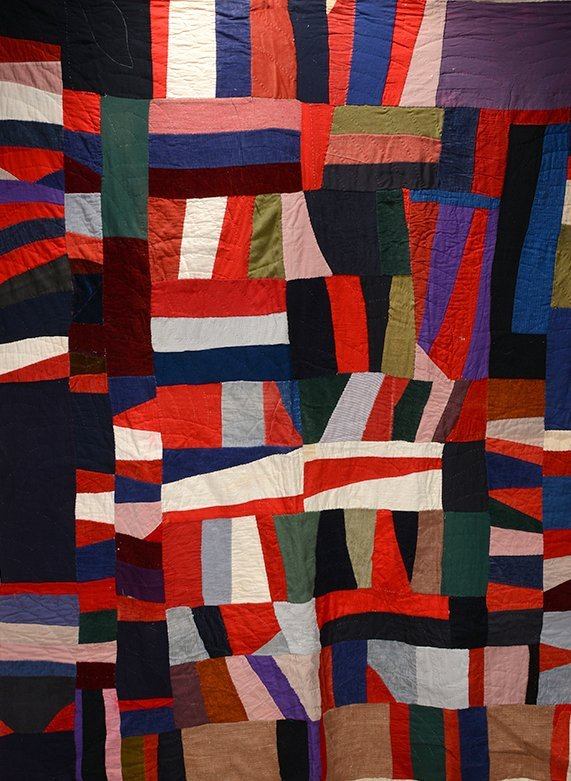 African American Beautiful Abstract Quilt.