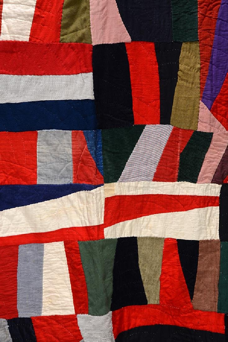 African American Beautiful Abstract Quilt. - 2
