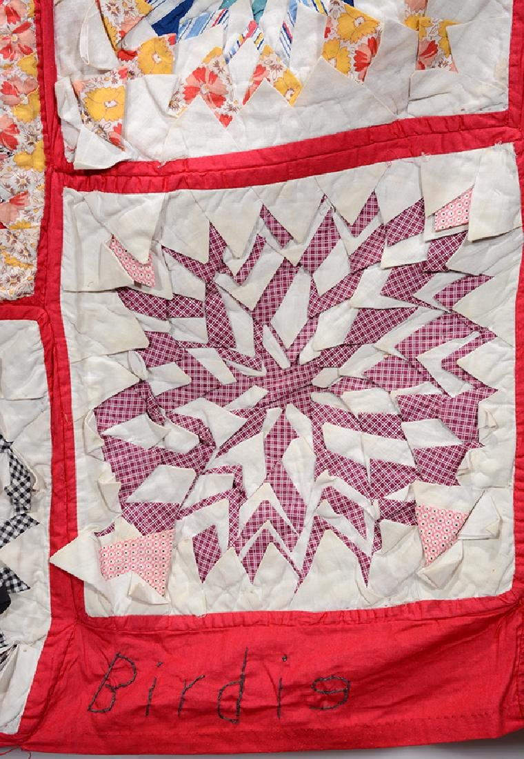 Miss Birdie Flagg, Mayfield, KY. Signature Quilt. - 2