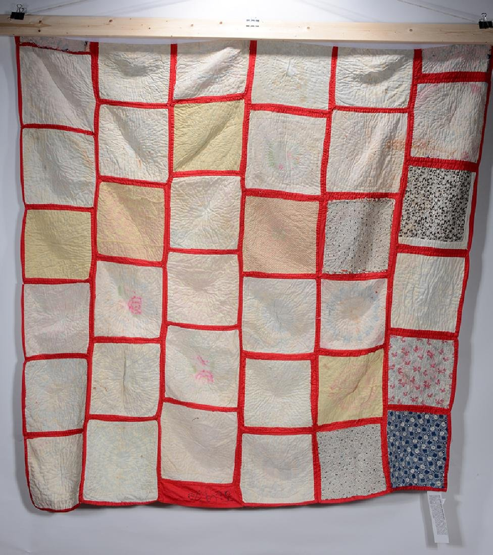 Miss Birdie Flagg, Mayfield, KY. Signature Quilt. - 4