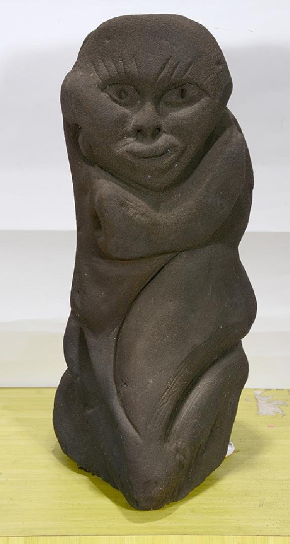 Lonnie Holley. Giant Kneeling Woman. - 3