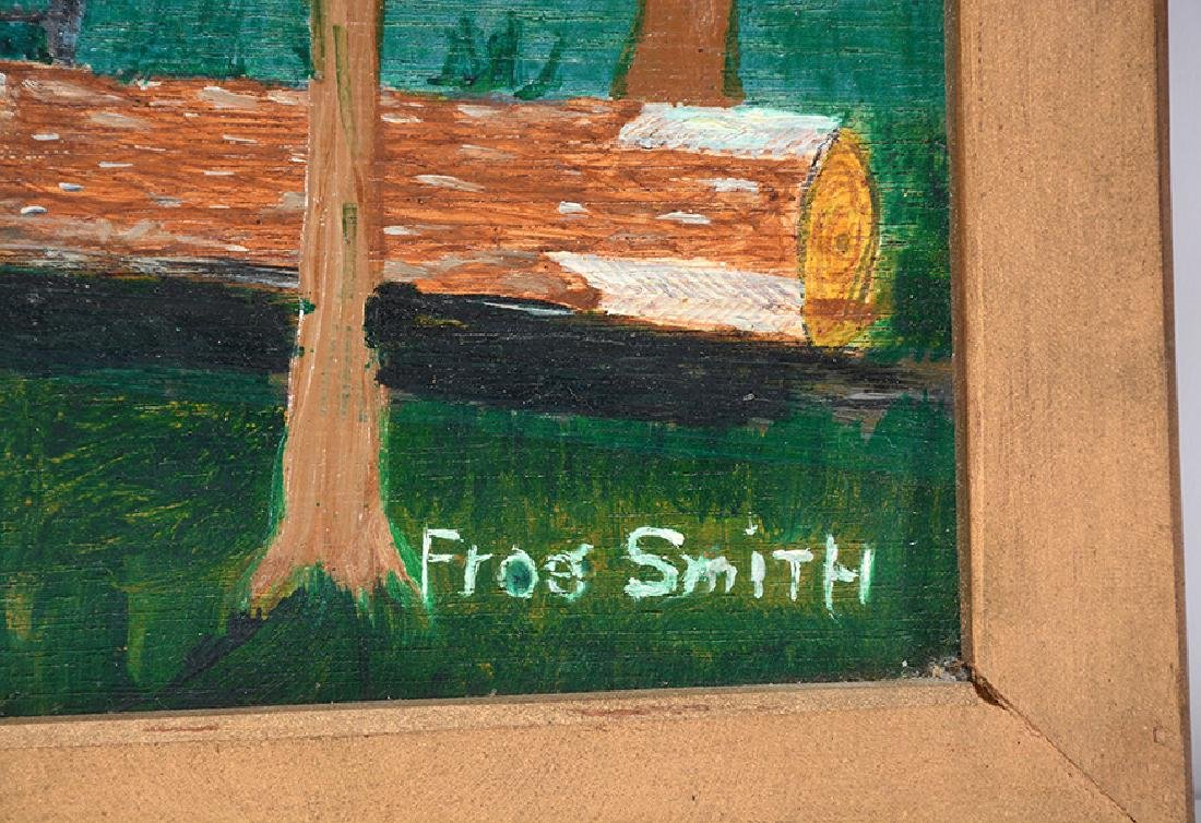 Frog Smith. Hauling Logs With Balanced Cart. - 2