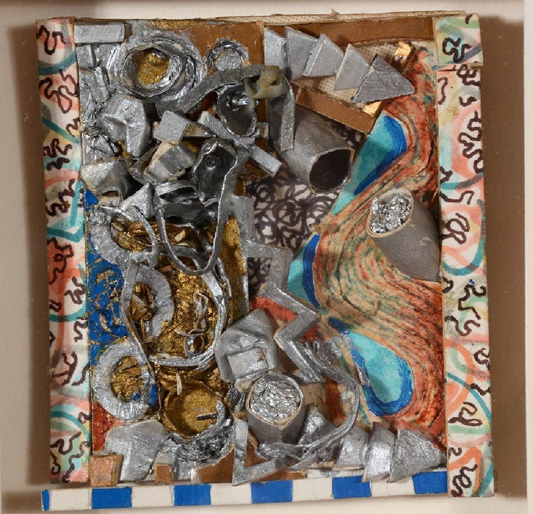 Alan Wayne Bradley - 'Haint'.  Small Abstracts. - 3