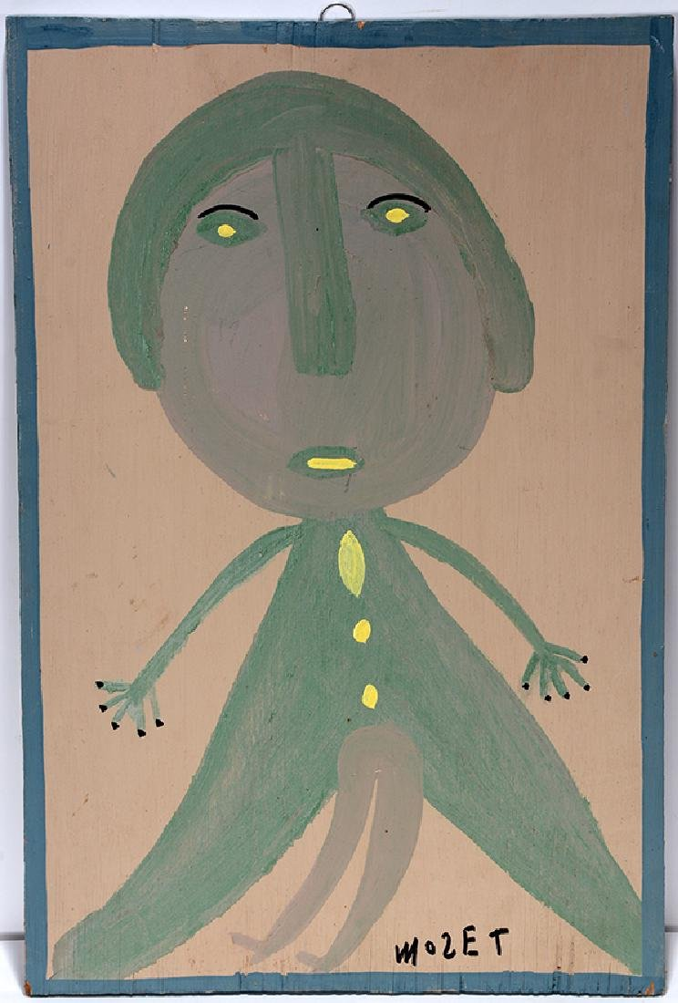 Mose Tolliver. Woman In Green.