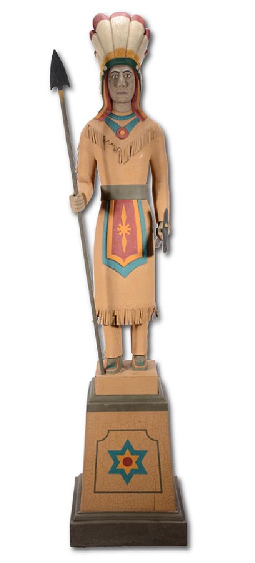 S. Cornette. Indian Chief.