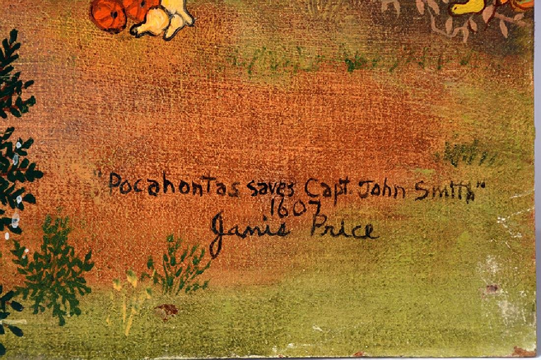 Janice Price. Pocahontas Saves Capt. John Smith. - 4