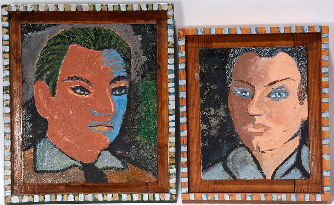Carl Cook. George Olson & J.W. Crabb Portraits.