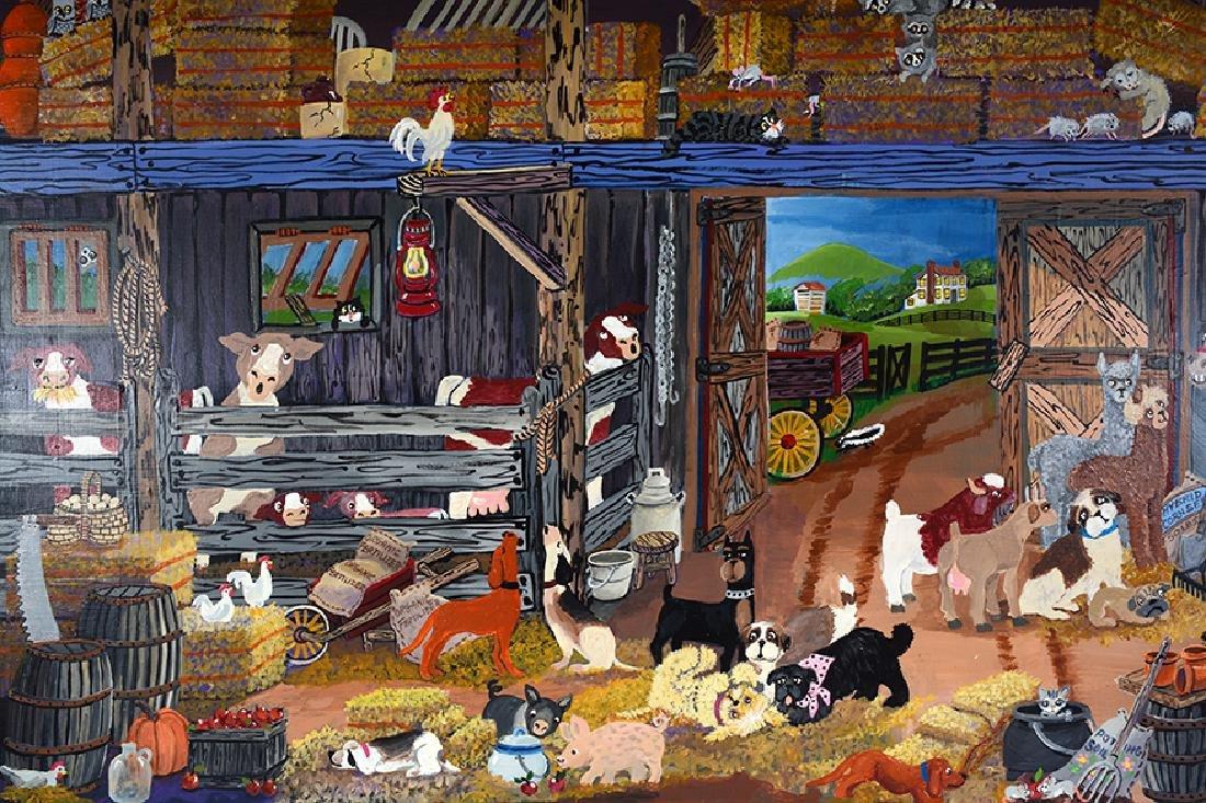 Carol Salas. Day's End On the Farm. - 4