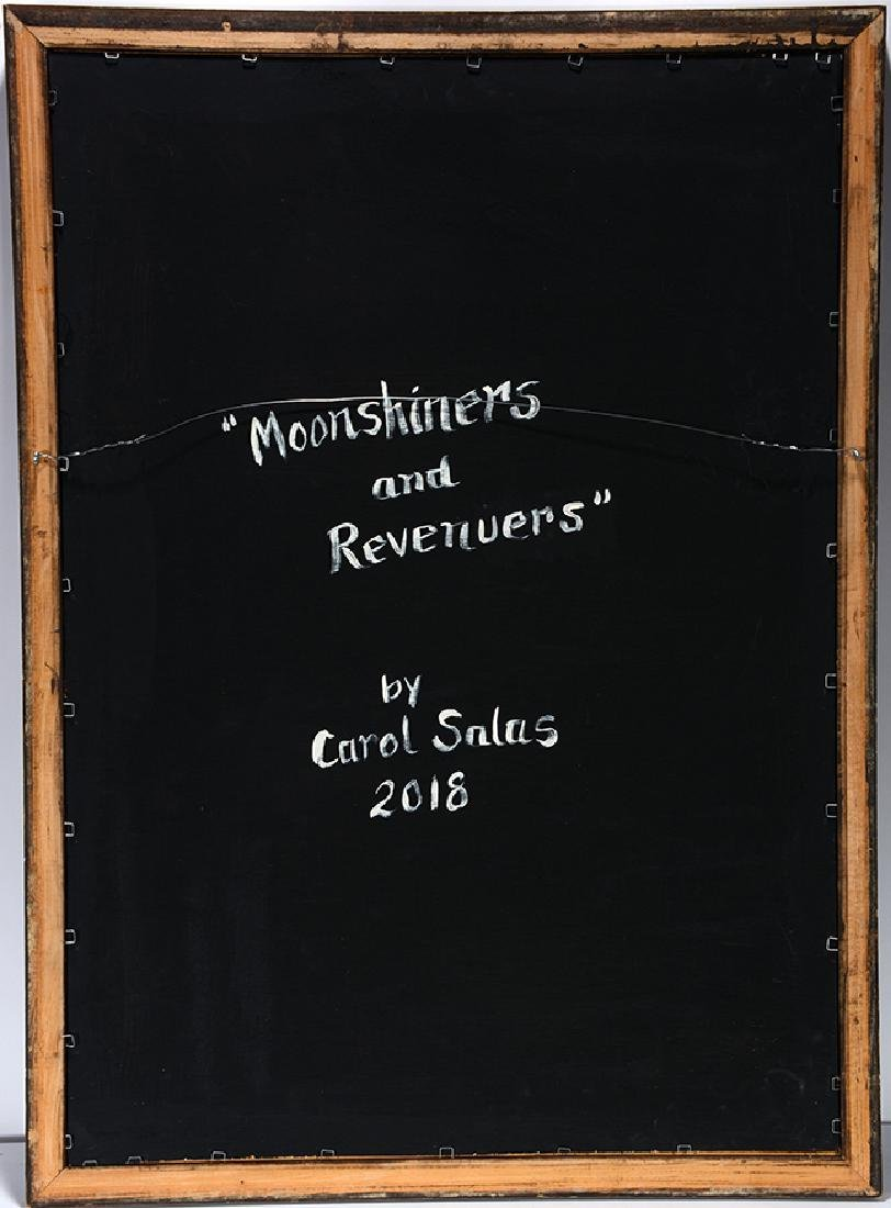 Carol Salas. Moonshiners and Revenuers. - 5