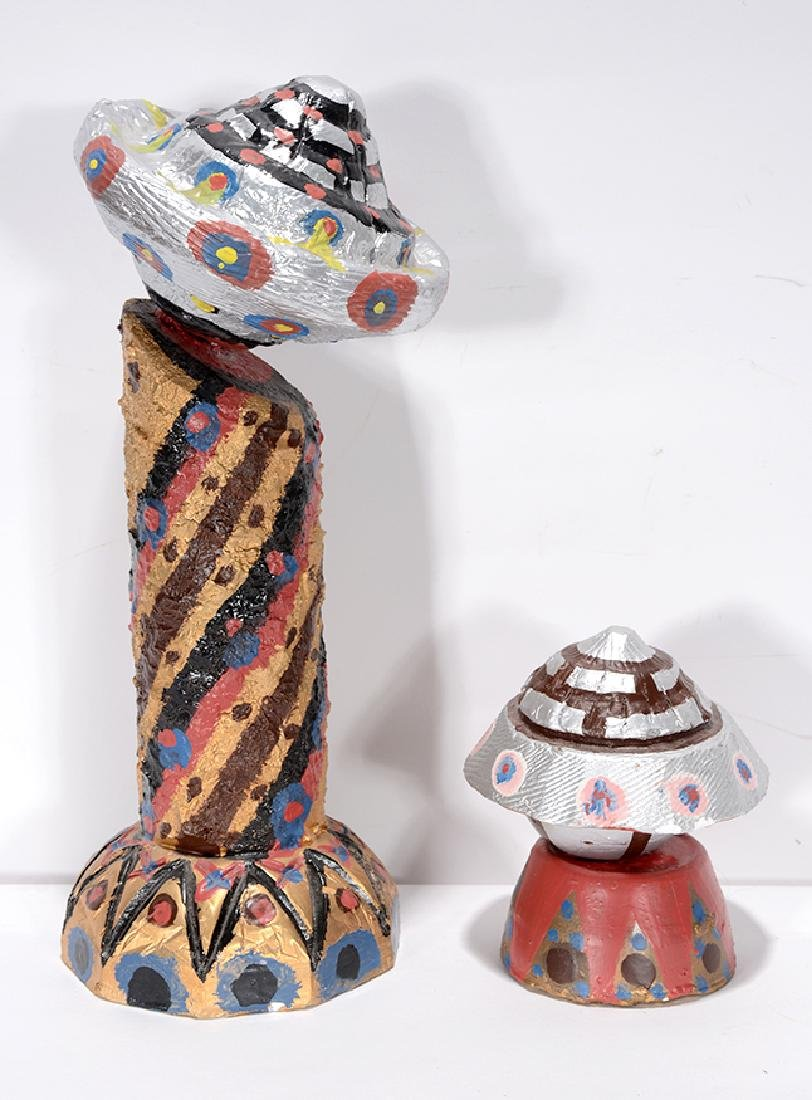Ionel Talpazan. Large & Small Flying Saucers. - 2