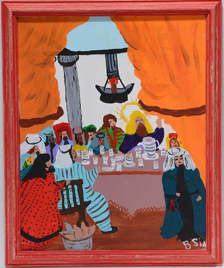 Bernice Sims. Last Supper.