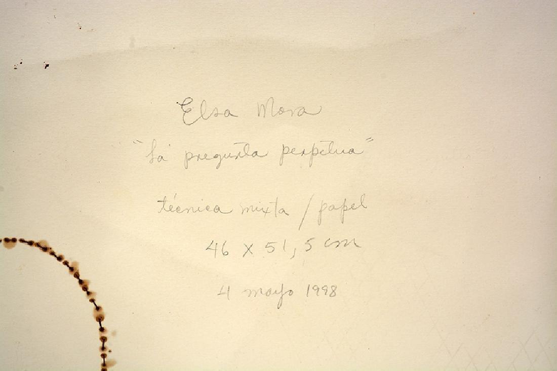 Elsa Mora. La Pregunta Perpetua. - 5
