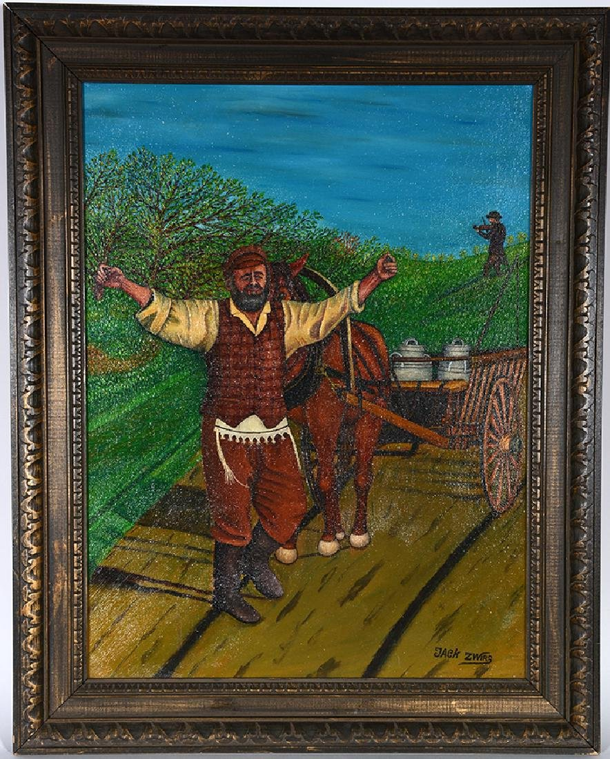 Jack Zwirz. Fiddler On The Roof.