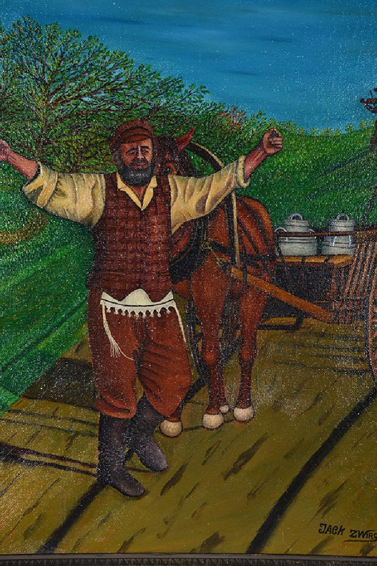 Jack Zwirz. Fiddler On The Roof. - 2