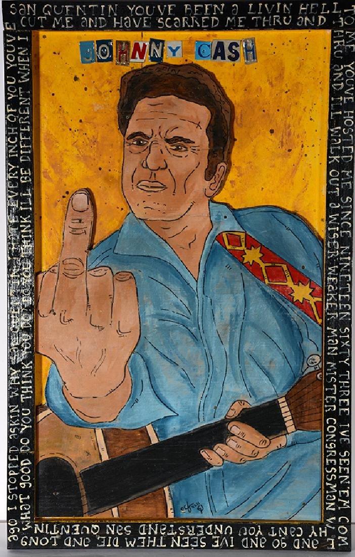 Eric Cunningham. Johnny Cash's Middle Finger.