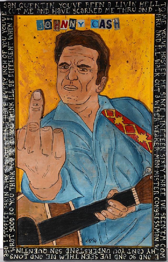 Eric Cunningham. Johnny Cash's Middle Finger. - 2