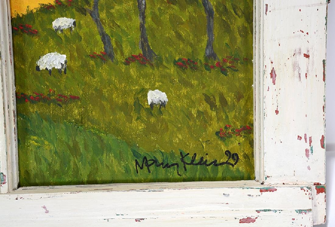 Mary Klein. Sheep In the Grassy Meadows. - 2