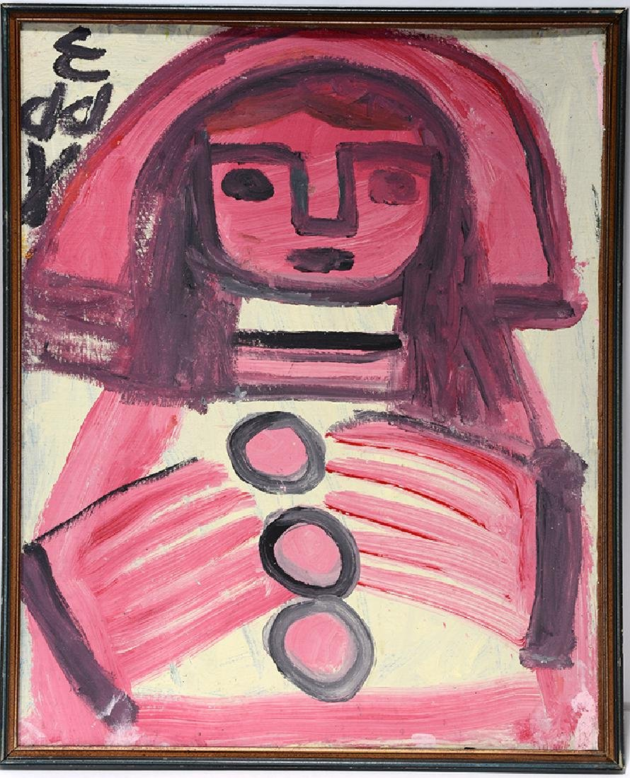 Eddy Mumma. Pink And Red Man.
