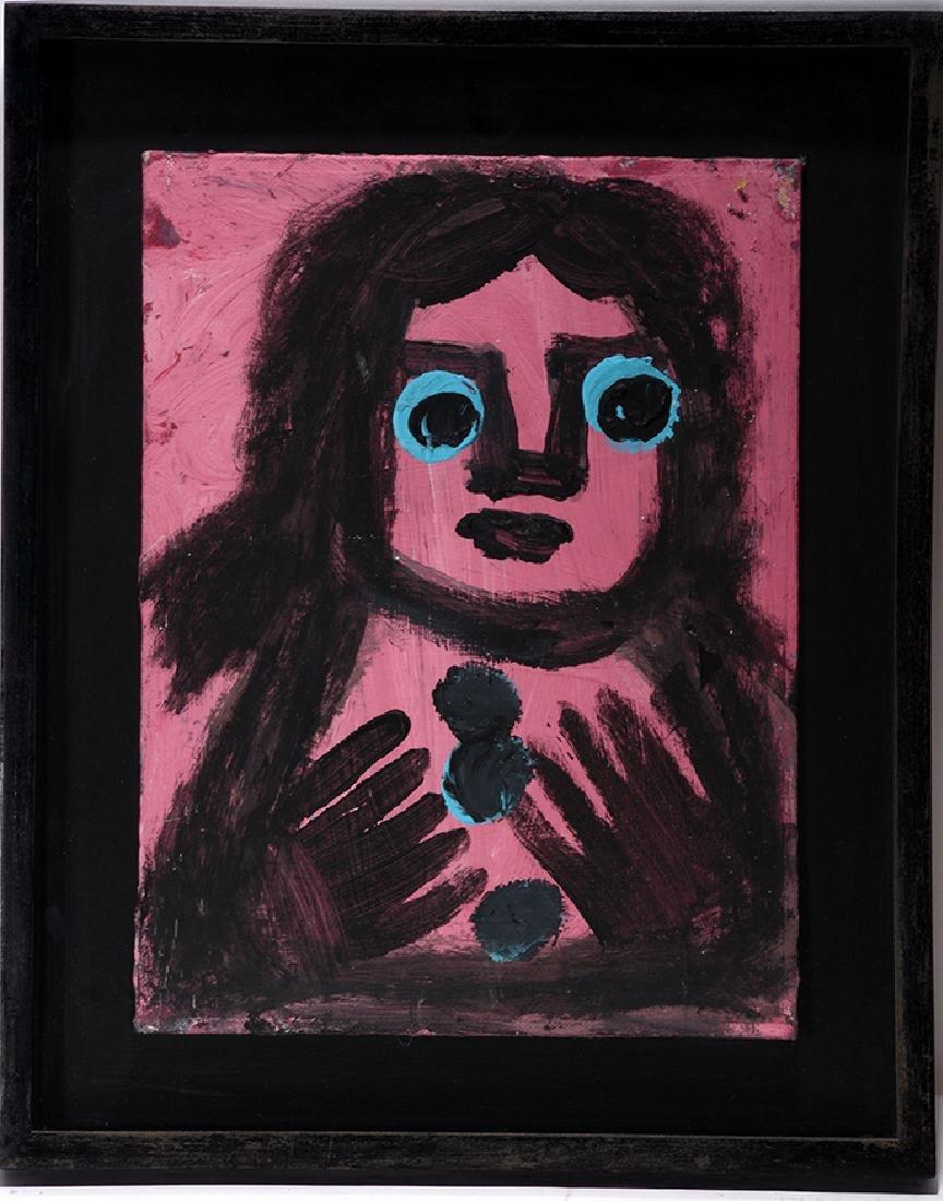 Eddy Mumma. Portrait In Pink.