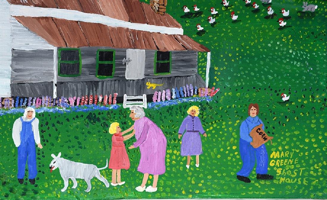 Mary Greene. Ghost House. - 2