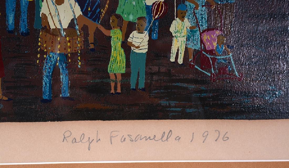 Ralph Fasanella. San Gennaro Feast Little Italy. - 3