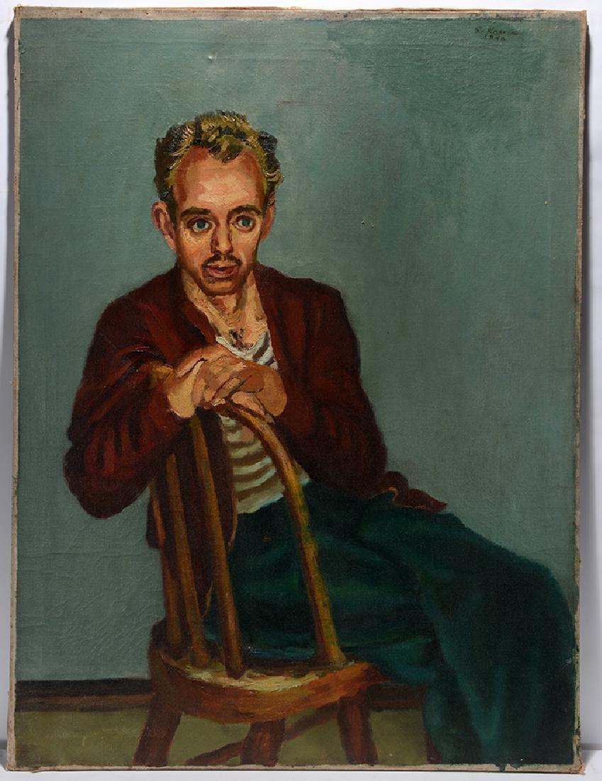 Sidney Koblenz. Self-Portrait.