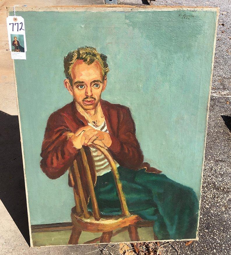 Sidney Koblenz. Self-Portrait. - 5
