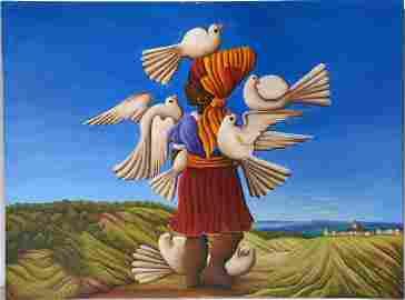 Shubert Denis. Dove Lady.