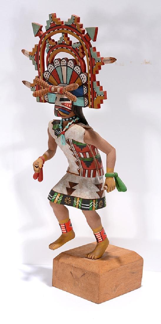 Ramon Albert. Hopi Kachina Doll. - 3