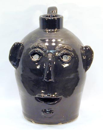 22: Jerry Brown Simple Face Jug
