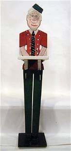 260: Howard Finster Card Butler