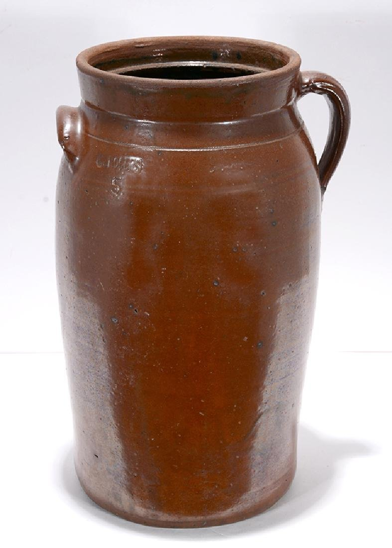 S.R. Rogers. Traditional 5 Gallon Churn.