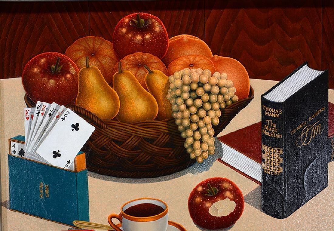 Drossos P. Skyllas. Still Life On Table - 10