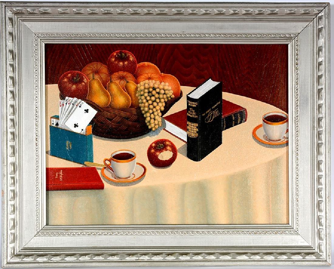 Drossos P. Skyllas. Still Life On Table - 2