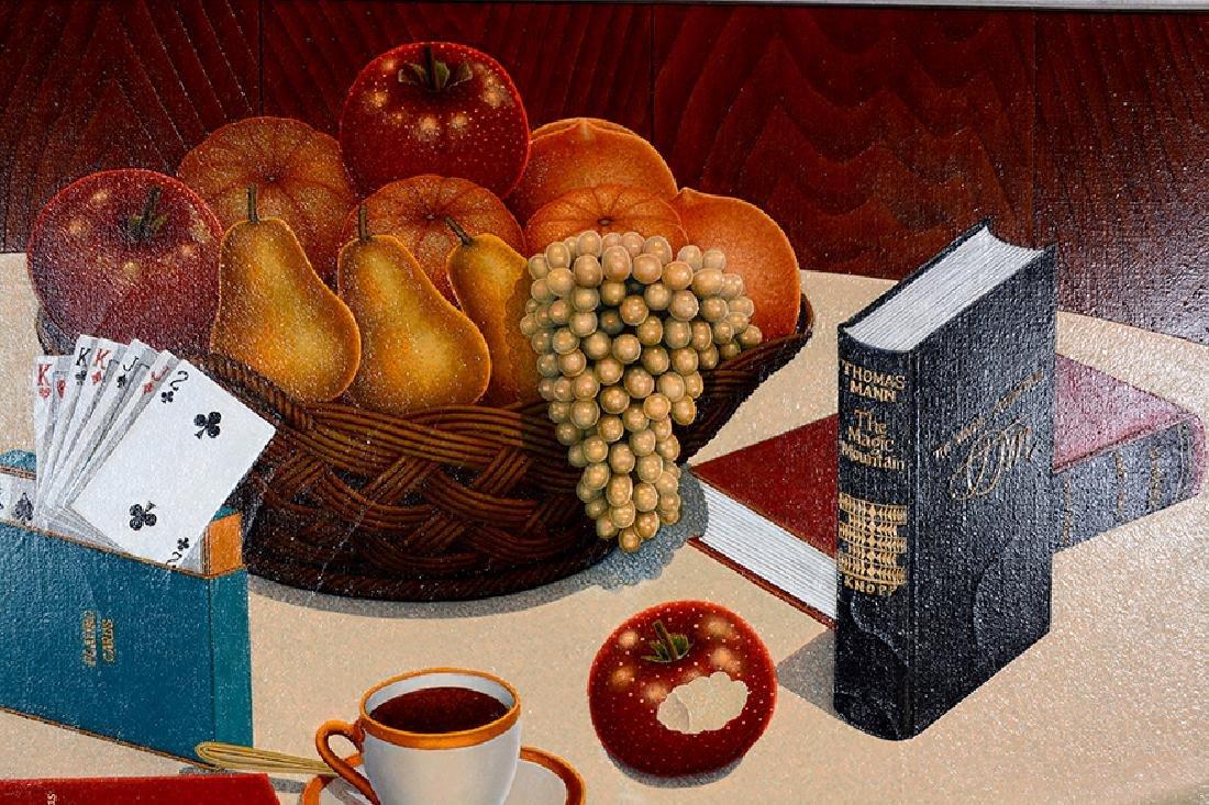 Drossos P. Skyllas. Still Life On Table - 4